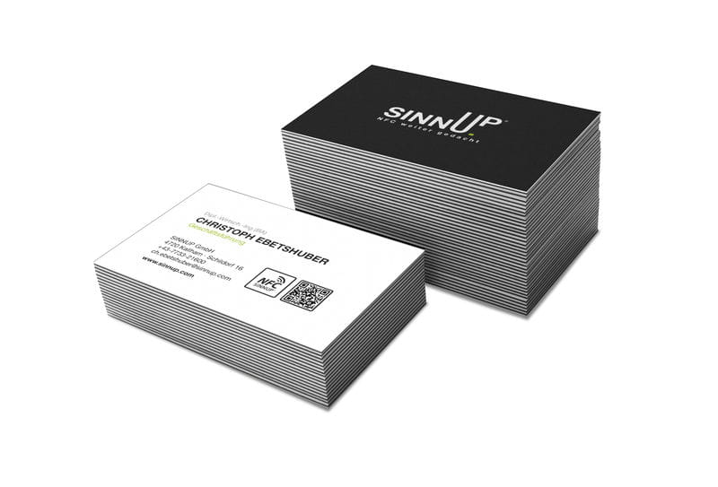 nfc business card paper - Nfc Business Cards